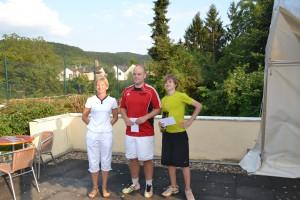 Doris Glass, Lars Welsch und Tim Bauer